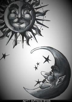 18 best Sun/Moon images on Pinterest | Sun moon stars, Art google ...