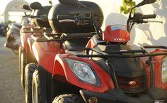 Sortie en quad pour explorer Santorini, Cyclades