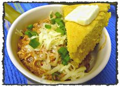 Cornbread with Green Chiles and Cheese