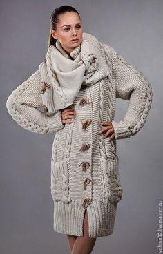 """Верхняя одежда ручной работы. Ярмарка Мастеров - ручная работа. Купить Пальто """"Анастасия"""". Handmade. Бежевый, пальто женское"""