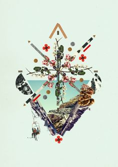 Threadless Select Collection *NEW* - DG DESIGN #collage Dawn Gardner