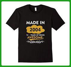 Mens Made in 2004 - 13 Years Old - 13th Birthday Gift T-shirt Medium Black - Birthday shirts (*Amazon Partner-Link)