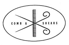 comb and shears