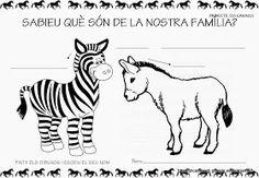 """Educació Infantil Brimar: PROJECTE """" ELS CAVALLS """" Moose Art, Yoga, Thread Art, Horses, Animales, Blue Prints, Farmhouse, Picasa, Atelier"""