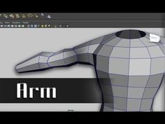 Modeling a Character in Maya - part 5 of 10