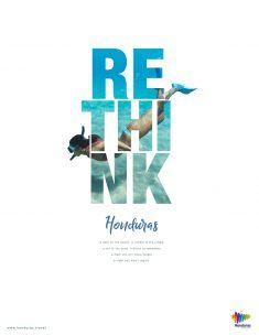 graphic campaign Rethink Honduras Print Campaign on Behance Creative Poster Design, Creative Posters, Graphic Design Posters, Graphic Design Inspiration, Creative Flyers, Graphisches Design, Book Design, Flyer Design, Print Advertising