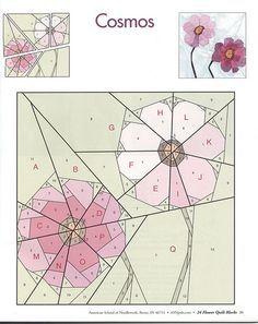 24 flower quilt blocks 31 | Flickr - Photo Sharing!