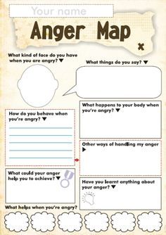 Anger Management Worksheet For Children - Free Anger And Feelings Worksheets For Kids Therapy Worksheets Anger Worksheets For Kids And Teens How Anger Feels Anger Management Worksheet Anger Ma. Therapy Worksheets, Worksheets For Kids, Printable Worksheets, Free Printable, Printables, Coping Skills, Social Skills, Life Skills, Counseling Activities