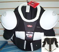 Hespeler GT F2 Junior Ice Hockey Shoulder Pads (Medium) by Hespeler. $22.99. Save 71% Off!