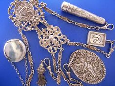 Edwardian Edwardian Jewelry, Edwardian Fashion, Antique Jewelry, Antique Silver, Vintage Jewelry, Edwardian Ring, Vintage Items, Edwardian Era, Victorian Era