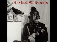 Death In June - Fall Apart. That is a great album cover. I cant tell if it says mall or wall, I hope it says mall! The mall of sacrifice. Y'all know that's my style home decoration!