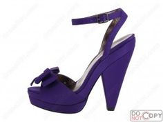 The  purple wedding shoes WS234    $79