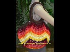 Professora Simone - Bolsa Square Degradê em crochê - YouTube