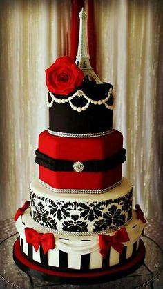 Elegant Eiffel Cake