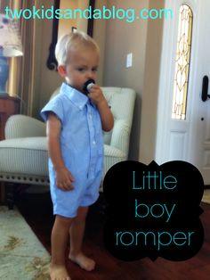 Little boy romper