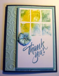 Handmade Cards - Making Your Own Stamps Using Die Cuts