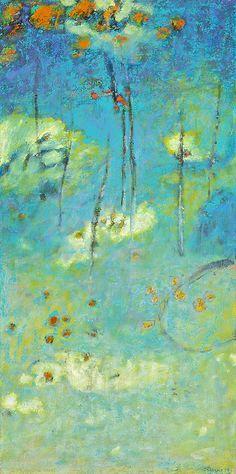 "Above All | oil on canvas | 32 x 16"" | 2014website Rick Stevens Art Tumblr"