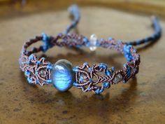 macrame anclet / bracelet
