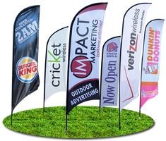 Advertising Flags and Banners