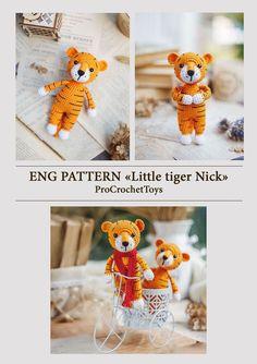 Newborn Crochet Patterns, Crochet Patterns Amigurumi, Knitting Patterns, Knitting Ideas, Cute Crochet, Crochet For Kids, Handmade Toys, Handmade Ideas, Cute Toys