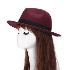 NEW Classic Homburg Ladies Hat #HatsForWomenBowler
