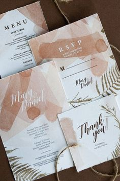This Wedding Stationery Invitations Suite features a Soft Powder Blush Pastel color design and it's a great fit for your Fall, Autumn Wedding theme. This Printable design allows you to edit, customize and personalize the design of those invites and print it yourself. This set includes Invitation, Save the Date Card, RSVP, Name card, Menu, Table Card, Thank you Card, and Detail enclosure Card. Letterpress Wedding Invitations, Simple Wedding Invitations, Printable Wedding Invitations, Elegant Invitations, Wedding Invitation Design, Wedding Stationery, Invitation Suite, Invites, Romantic Wedding Colors