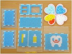 DIY Toothbrush holder perler beads by Peggy Wu - Done: https://de.pinterest.com/pin/374291419012761111/