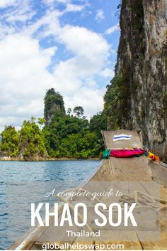 Things to do in Khao Sok National Park Thailand