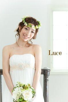 カラードレス花冠②
