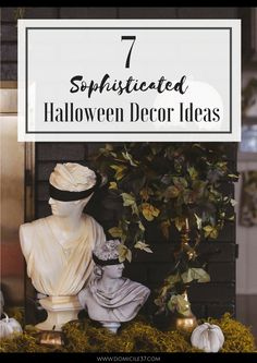Sophisticated ways to decorate for halloween | adult halloween | Halloween decor ideas | Halloween
