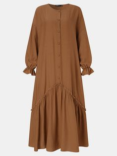 Big Size Fashion, Girl Fashion, Japanese Fashion, Korean Fashion, Abaya Fashion, Fashion Dresses, Modest Outfits, Casual Dresses, Clothes For Sale