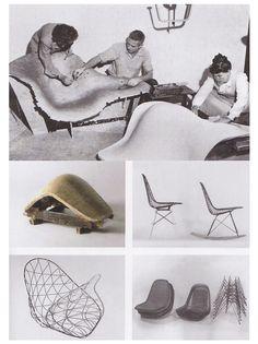 Feliz Cumpleaños Charles Eames working on Eames chairs Creative Agency Creative Agency Creative Agency - Folkert Hengeveld Charles Eames, Ray Charles, Crea Design, Design Design, Graphic Design, Interior Design, Chair Design, Furniture Design, Modernisme