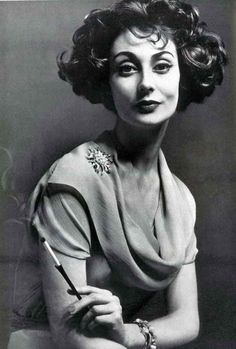 Givenchy, Vogue, 1957 - I would love to recreate this photo someday. She looks so regal.