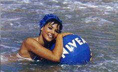 Den Wasserball von Nivea ... hatte ich natürlich auch.