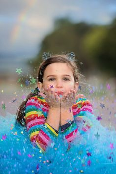 Say hello to the beautiful Sienna! This kids completely lights up the room and we had so much fun styling her for this colourful portrait session. Photography Services, Portrait Photography, Glitter Stars, Say Hello, Perth, Family Photographer, Cool Style, Arts And Crafts, Portraits