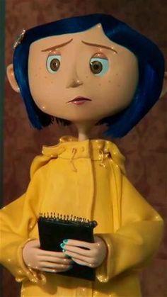 Coraline Aesthetic, Disney Aesthetic, Aesthetic Movies, Aesthetic Anime, Aesthetic Videos, Coraline Movie, Coraline Art, Coraline Jones, Coraline Makeup