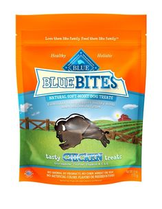 Blue Buffalo Blue Bites Tasty Chicken Natural Soft-Moist Dog Treats, 6-ounce bags by Blue Buffalo * You can get additional details at the image link. (This is an affiliate link and I receive a commission for the sales)