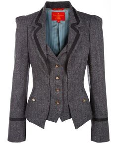 Shop Vivienne Westwood Red Label Pinstripe blazer in  from the world's best independent boutiques at farfetch.com. Over 1000 designers from 300 boutiques in one website.
