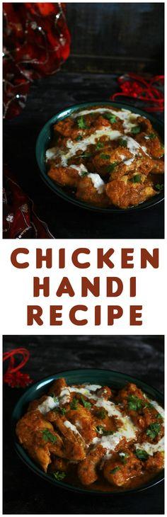 Chicken Handi Recipe-A very traditional restaurant style chicken handi recipe…