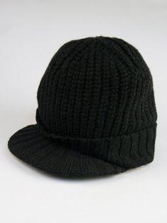 c9bd76ff74b UGG Australia® Knit Brim Hat for Men in Black. UGG Australia knit brim hat