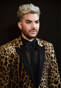Adam Lambert arrives at Buzzfeed Hosts 1st Inaugural Queer Prom For LGBT Youth Los Angeles at Siren Studios on May 13 2017 in Hollywood California