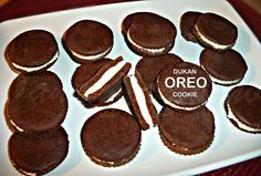 Cooking with love ! : BISCUITI OREO-DUKAN ( DUKAN OREO COOKIES ) Dukan Diet Recipes, Oreo Cookies, I Foods, Paleo, Cooking, Desserts, Oreos, Delicious Food, Fitness