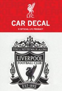 Official Liverpool FC Black Crest Decal Sticker 57ba19f9b4fb