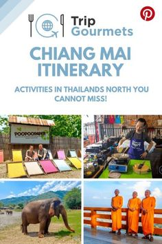 Chiang Mai, the second biggest city in Thailand, is an attractive destination for every Thailand itinerary.  Whether you stay only one day  or for several weeks, we bet there is an activity for every Chiang Mai #Itinerary in this post.  #chiangmai #thaila