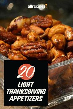 """20 Light Thanksgiving Appetizers To Munch On Before The Main Event 