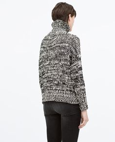 Image 4 of HIGH NECK SWEATER from Zara