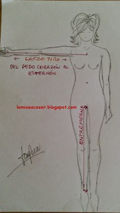 LO MIO ES COSER..... Y HACER PATRONES: Medidas necesarias para trazar patrones y cómo tomarlas Sewing Hacks, Sewing Projects, Dress Patterns, Sewing Patterns, Detail Shop, Pattern Drafting, Fashion Sewing, Women's Fashion, Sewing Techniques