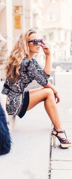 #summer #fashion / geometric