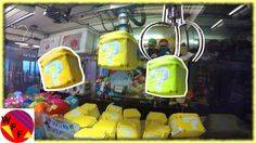 WINNING Lucky Blocks From the Claw Machine! Will Weee Win a Wii U?  Surp...