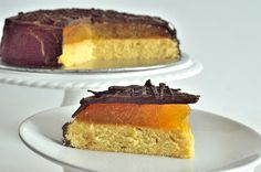 Utterly Scrummy Food For Families: Giant Jaffa Cake (Vegan)